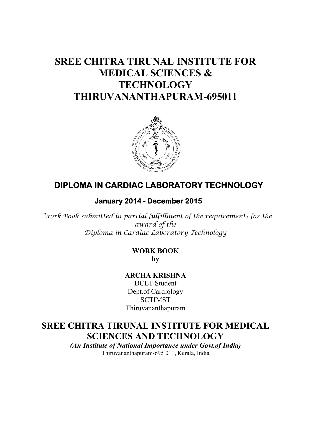 View/Open - SCTIMST Dspace - Sree Chitra Tirunal Institute for