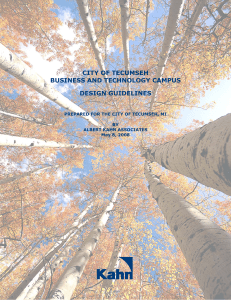 Campus Design Guidelines - Tecumseh Business and Technology