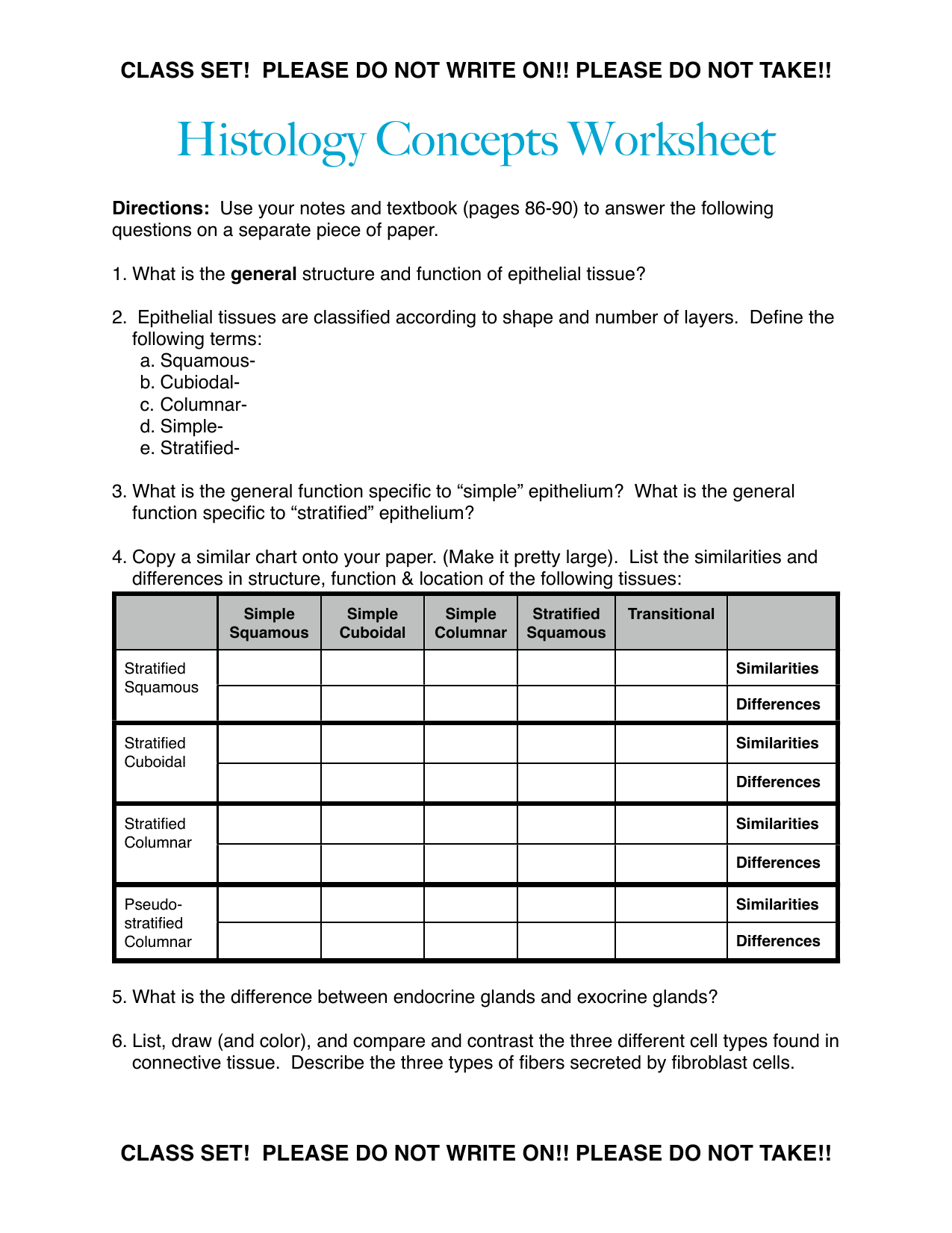 Body Tissues PowerPoint and Worksheet by ScienceSpot ...  |Human Tissue Worksheet