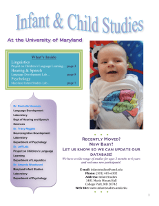 Infant Lab Newsletter 2010_2