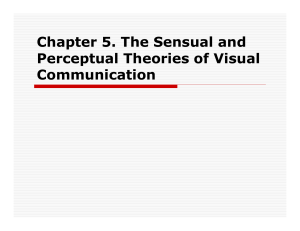 Chapter 5. The Sensual and Perceptual Theories of Visual