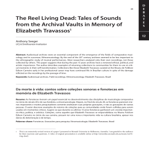 The Reel Living Dead: Tales of Sounds from the Archival Vaults in