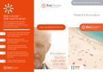 Patient Information Skin cancer. Don`t let it get under your skin. Skin