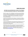 Julie Stapf Joins NorthStar Bank as Senior Vice President of