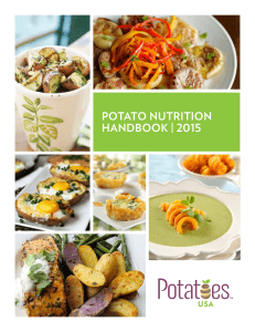 potato nutrition handbook | 2015