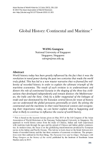 View PDF - Asian Review of World Histories