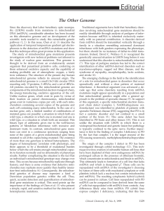 Editorial - Clinical Chemistry