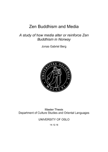Zen Buddhism and Media - DUO