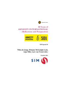 50 Years of AMNESTY INTERNATIONAL