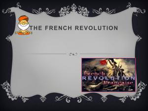 of the french revolution