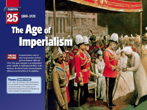 The Age of Imperialism Section 1