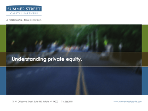 Understanding private equity.