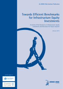 Towards Efficient Benchmarks for Infrastructure Equity Investments