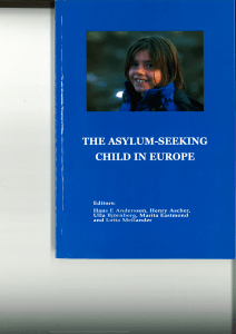 The Asylum-seeking Child in Europe – An Introduction