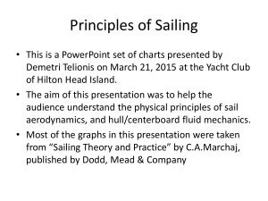 SAILING PRINCIPLES March 21