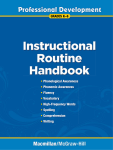 instructional routine book