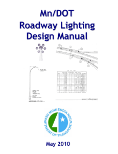 2010 Roadway Lighting Design Manual