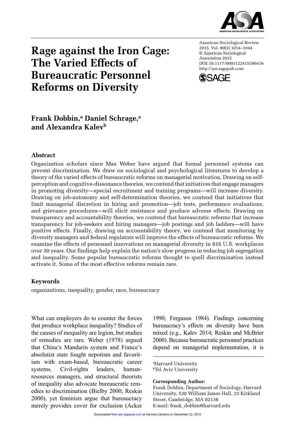 daniel schrage harvard dissertation