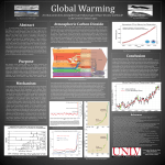 Global warming: At what point does atmospheric greenhouse gas