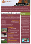 Genesis Newsletter Autumn 2013