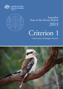 Australia`s State of the Forests Report