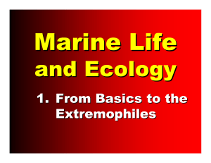 1. From Basics to the Extremophiles