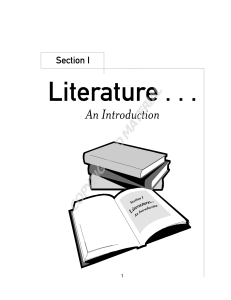 Section I Literature