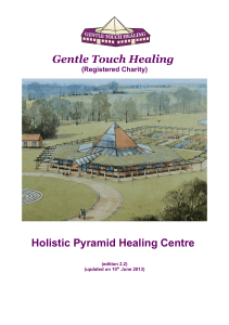 Gentle Touch Healing Holistic Pyramid Healing Centre