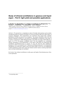 Study of infrared scintillations in gaseous and liquid argon – Part II