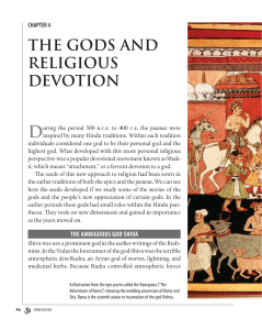 THE GODS AND RELIGIOUS DEVOTION