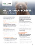 grizzly bears forever - CPAWS Southern Alberta