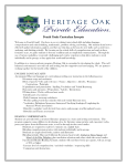 4th Grade Curriculum - Heritage Oak Private Education