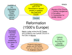 Reformation (1500`s Europe)