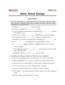 Energy - Assam Valley School