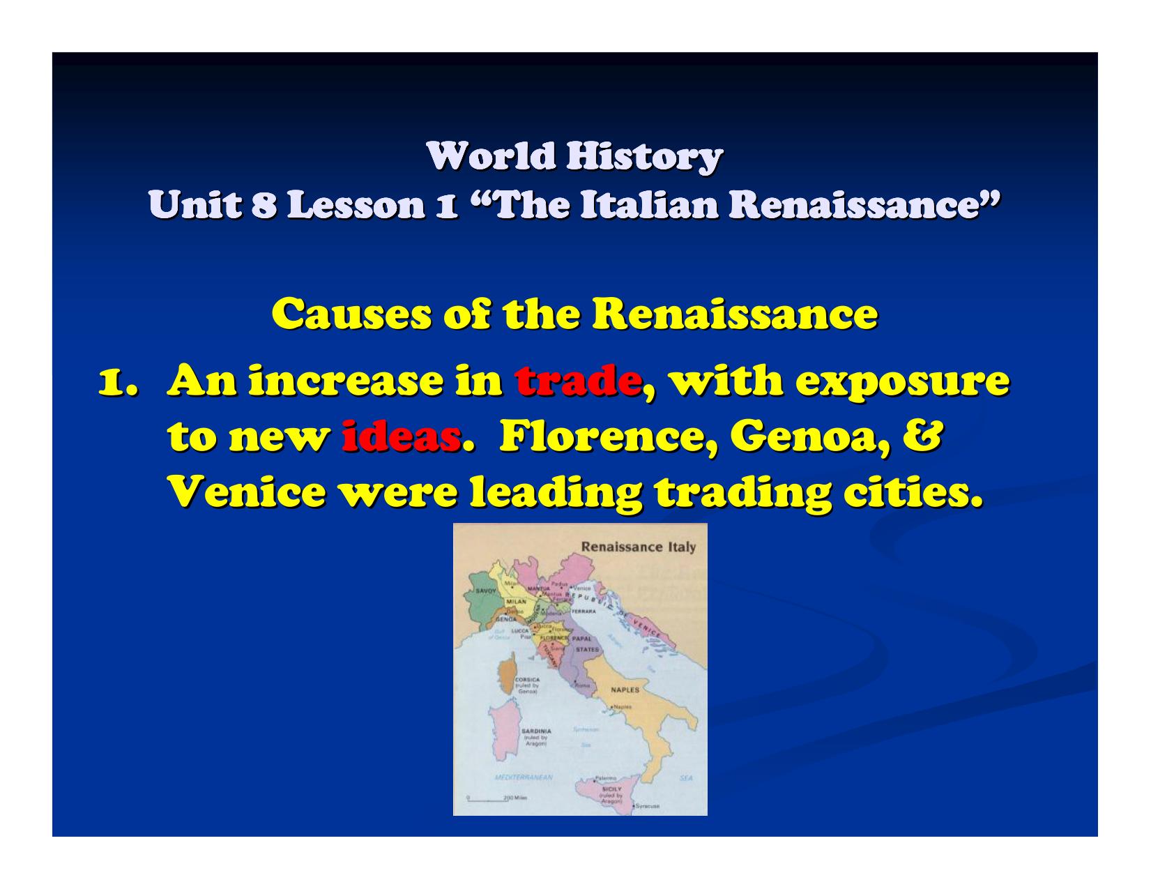 renaissance definition