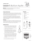 Lesson 1: Build an Aquifer