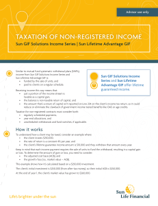 taxation of non-registered income