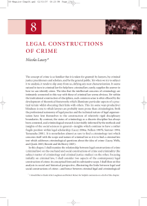 legal constructions of crime