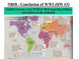 Conclusion of War Slideshow