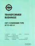 TRANSFORMER BUSHINGS - telk.com