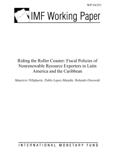 Riding the Roller Coaster: Fiscal Policies of Nonrenewable