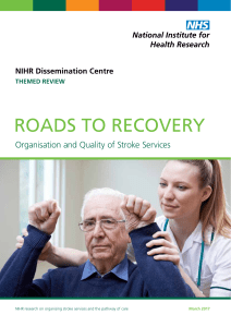 roads to recovery - Dissemination Centre