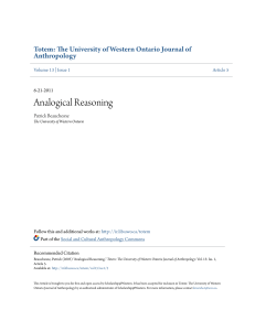 Analogical Reasoning - Scholarship@Western