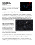 Sky News – March 2015 The Realm of the Galaxies