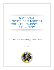 National Northern Border Counternarcotics Strategy