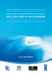 sea level rise in the caribbean - M