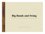 Big Bands and Swing