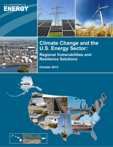 Climate Change and the US Energy Sector: Regional Vulnerabilities