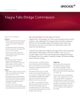 Niagra Falls Bridge Commission Success Story