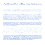 Additional Uses of Blue Light Technology